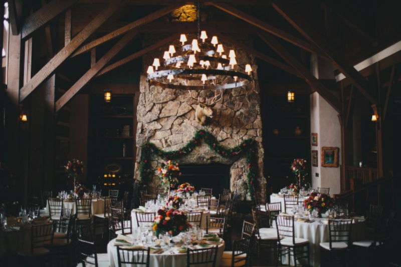 Picture Of rustic and elegant aspen winter wedding inspiration  11
