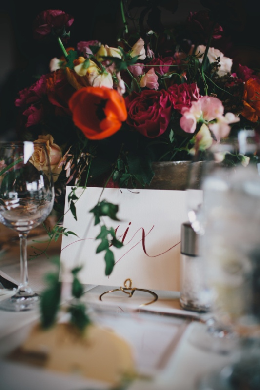 Picture Of rustic and elegant aspen winter wedding inspiration  12