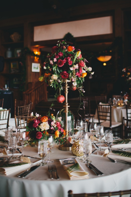 Picture Of rustic and elegant aspen winter wedding inspiration  13