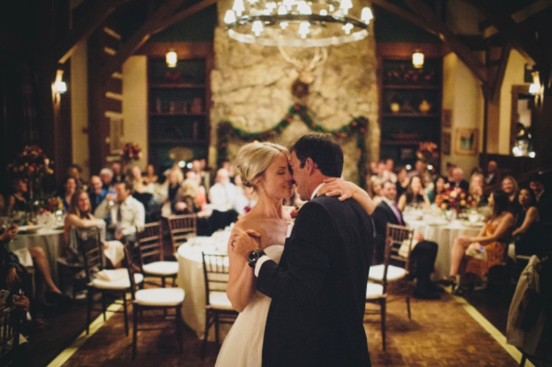 Picture Of rustic and elegant aspen winter wedding inspiration  15