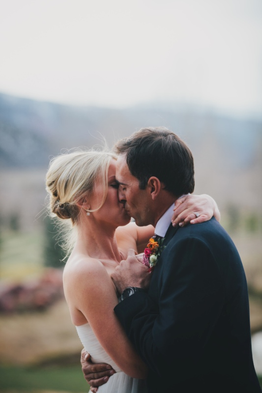 Picture Of rustic and elegant aspen winter wedding inspiration  5