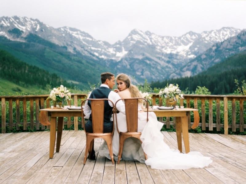 Picture Of rustic and elegant mountain wedding inspiration  10