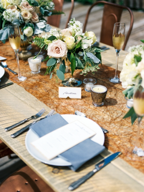 Picture Of rustic and elegant mountain wedding inspiration  11