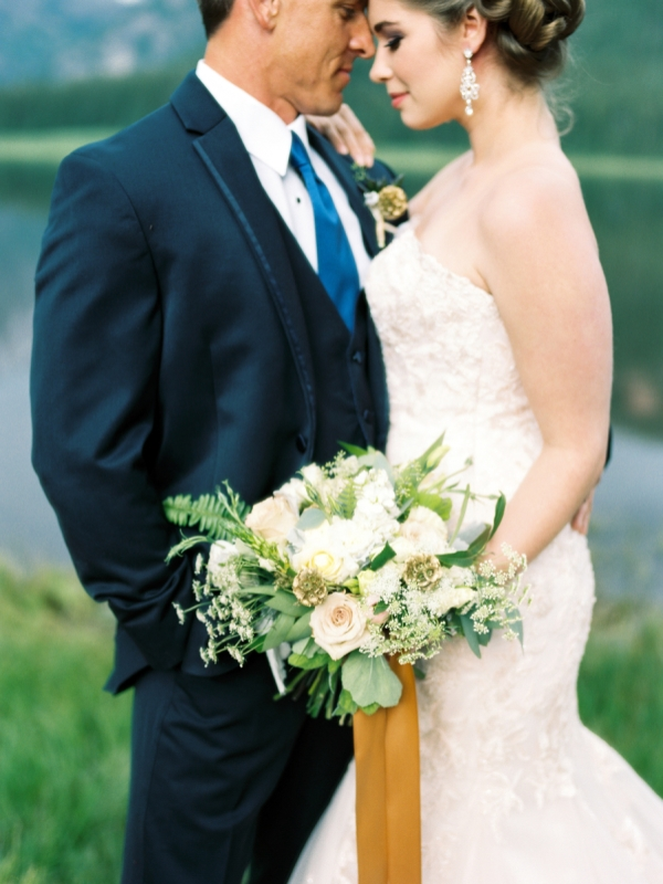 Picture Of rustic and elegant mountain wedding inspiration  13