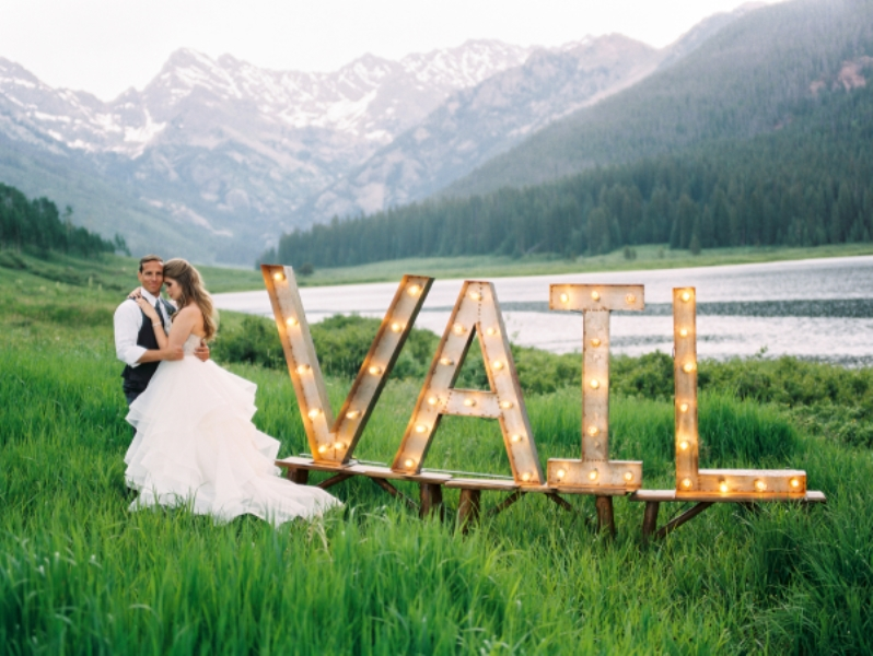 Picture Of rustic and elegant mountain wedding inspiration  16