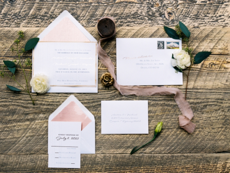 Picture Of rustic and elegant mountain wedding inspiration  3