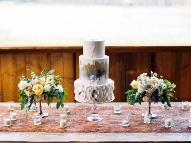 Picture Of rustic and elegant mountain wedding inspiration  5