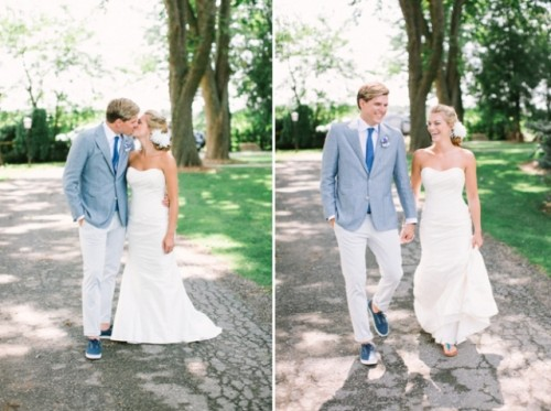 Rustic Blue Wedding With Love To The Ocean