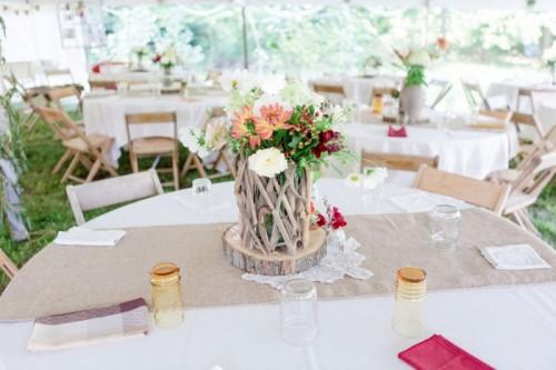 Rustic Boho Chic Wedding With Wild Flowers