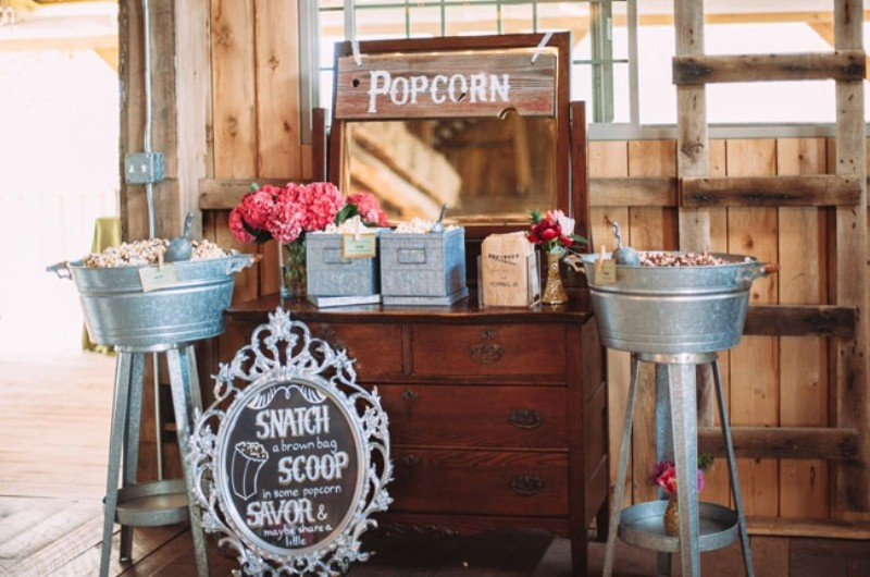Of rustic chic barn wedding inspiration 11