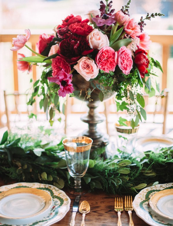 Picture Of rustic chic barn wedding inspiration  14