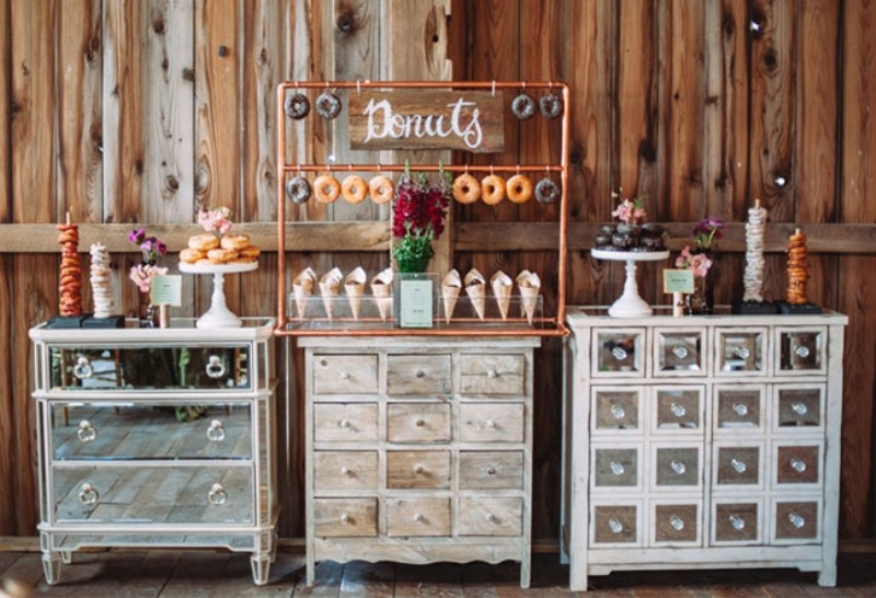 Picture Of Rustic Chic Barn Wedding Inspiration 15