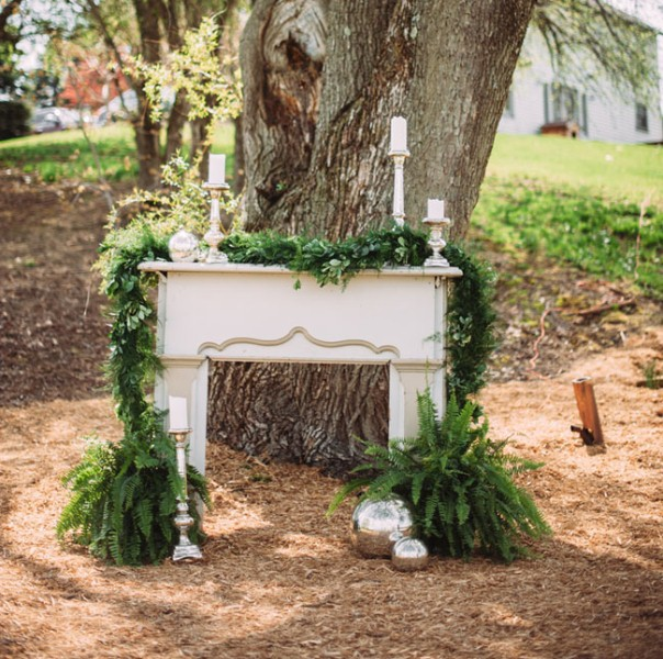 Picture Of rustic chic barn wedding inspiration  16
