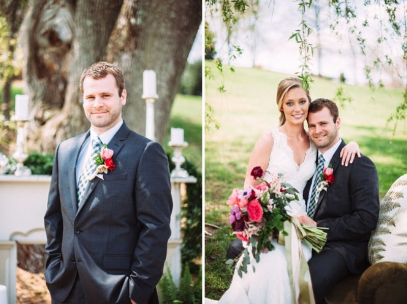 Picture Of rustic chic barn wedding inspiration  17