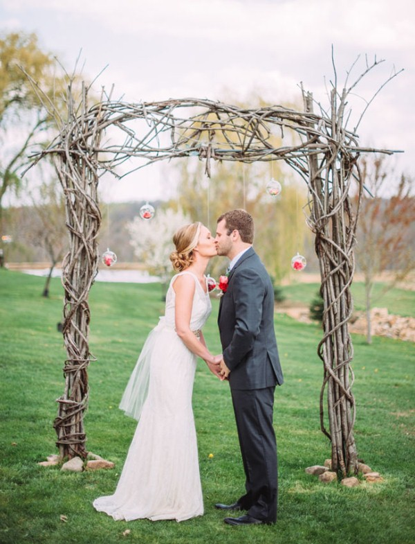Picture Of rustic chic barn wedding inspiration  3