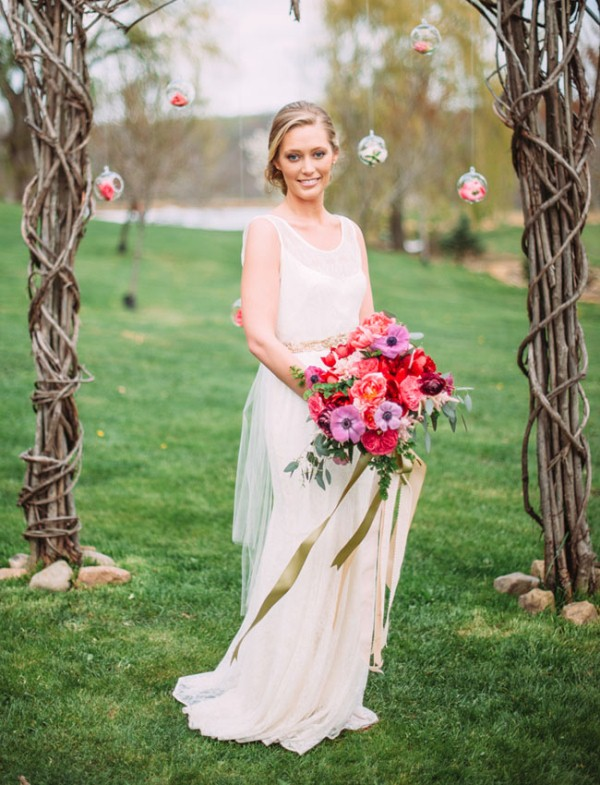 Picture Of rustic chic barn wedding inspiration  5