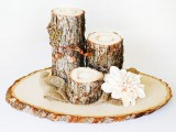 Rustic Diy Fall Wedding Centerpiece