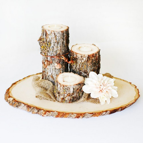 Rustic Diy Fall Wedding Centerpiece