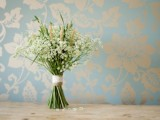 Rustic Diy Foraged Bouquet With Wheat