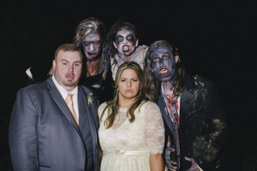 Rustic DIY Zombie-Inspired Wedding