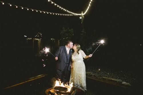 Rustic Diy Zombie Inspired Wedding