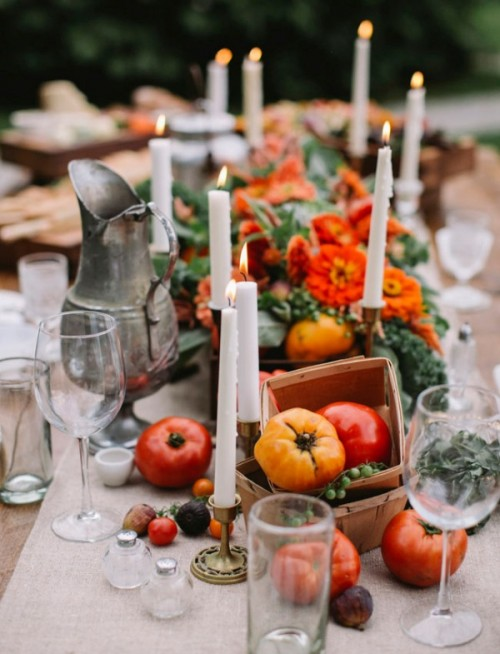 Rustic Fall Foodie Wedding Inspiration
