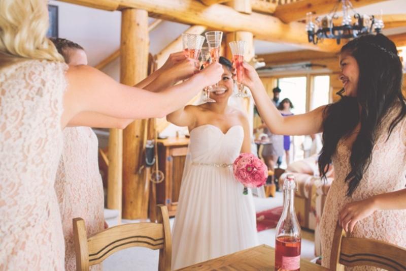 Rustic Handmade Wedding In North Arm Farm