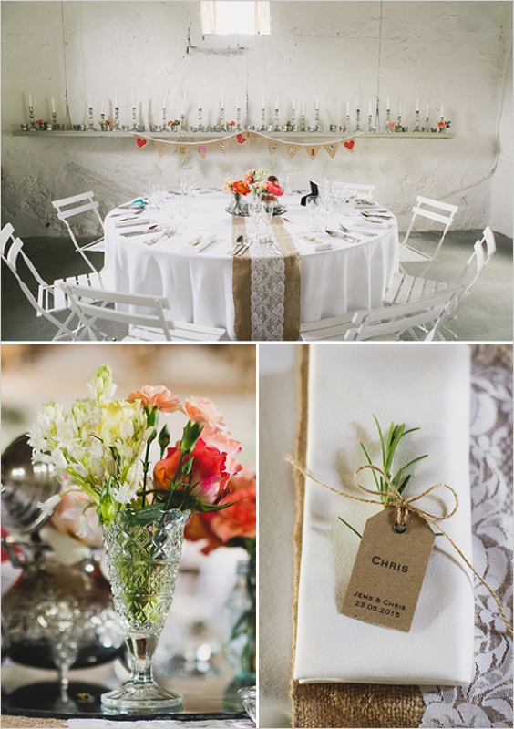 Picture Of rustic meets vintage french countryside wedding inspiration  8