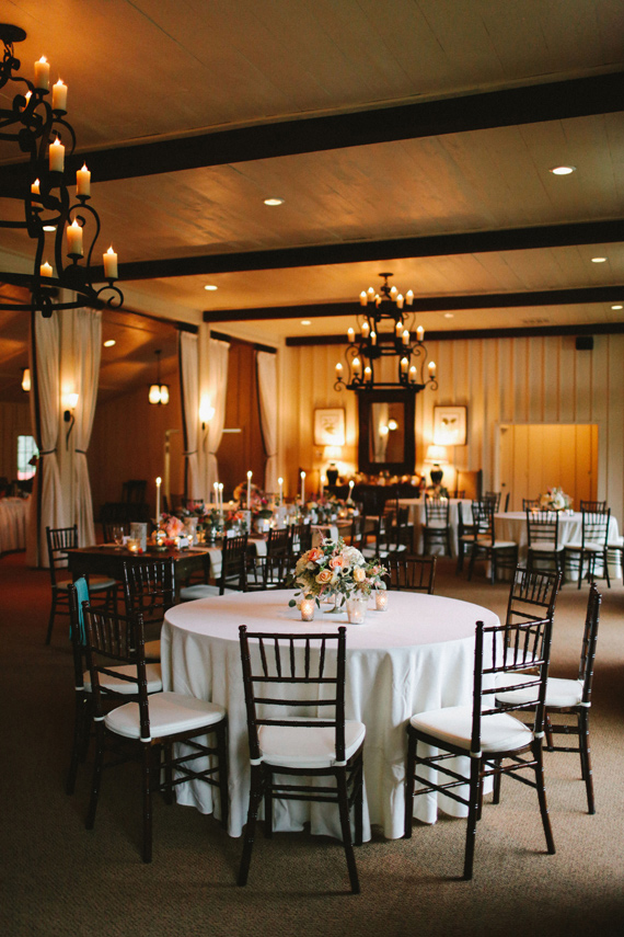 Picture Of rustic mountain wedding with peach touches  18