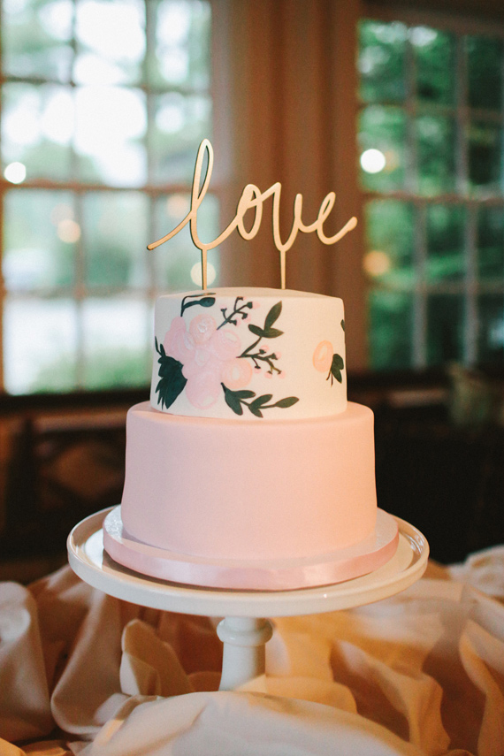 Picture Of rustic mountain wedding with peach touches  20