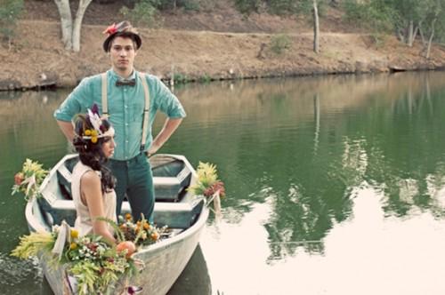 Rustic Neverland Inspired Wedding Shoot