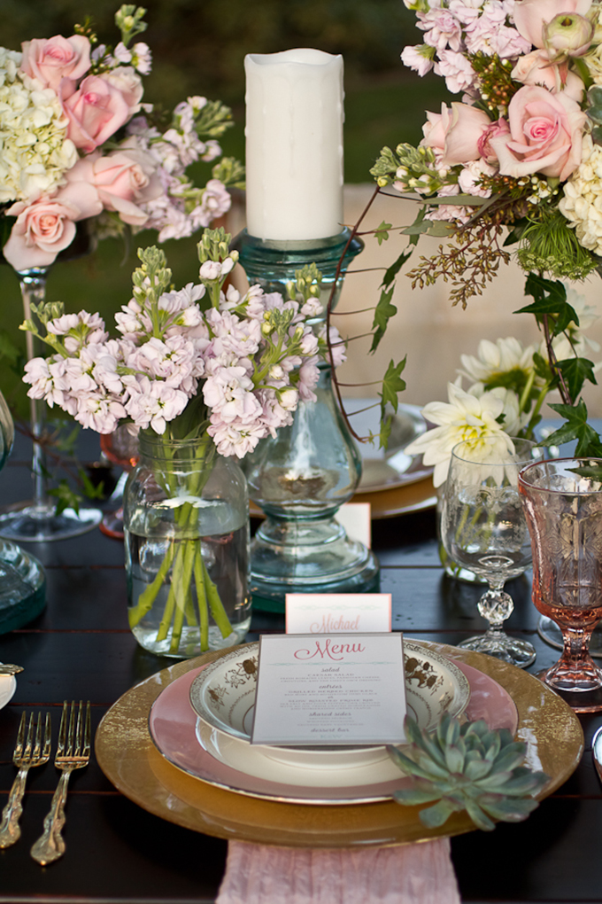 Rustic Ranch Wedding With Pink Glam Touches