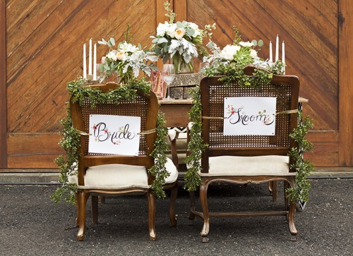 Rustic Romantic Wedding Inspiration In Subtle Colors
