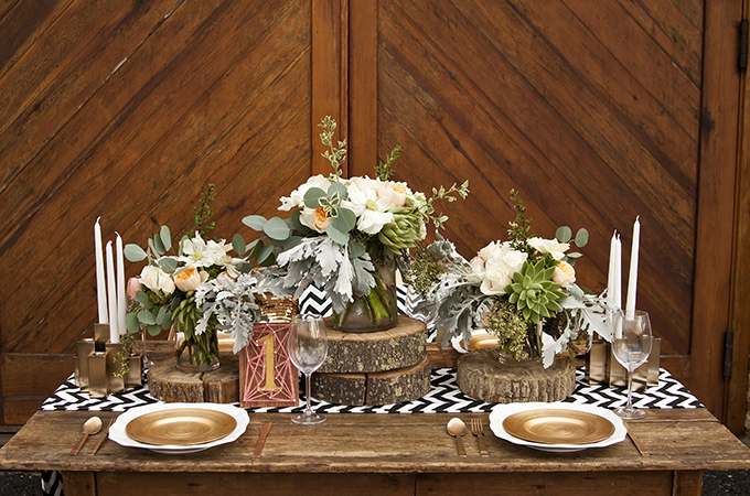 Picture Of Rustic Romantic Wedding Inspiration In Subtle Colors