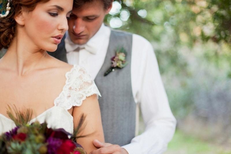 Rustic Vintage Romance Wedding Styled Shoot