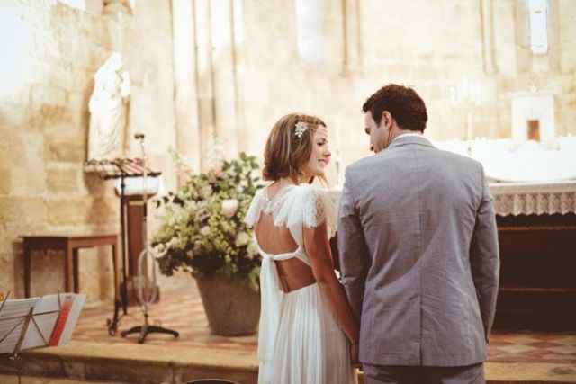 Rustic Vintage Wedding At A French Chateau