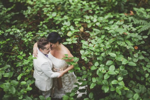 Same Sex Tofino Beach Destination Wedding