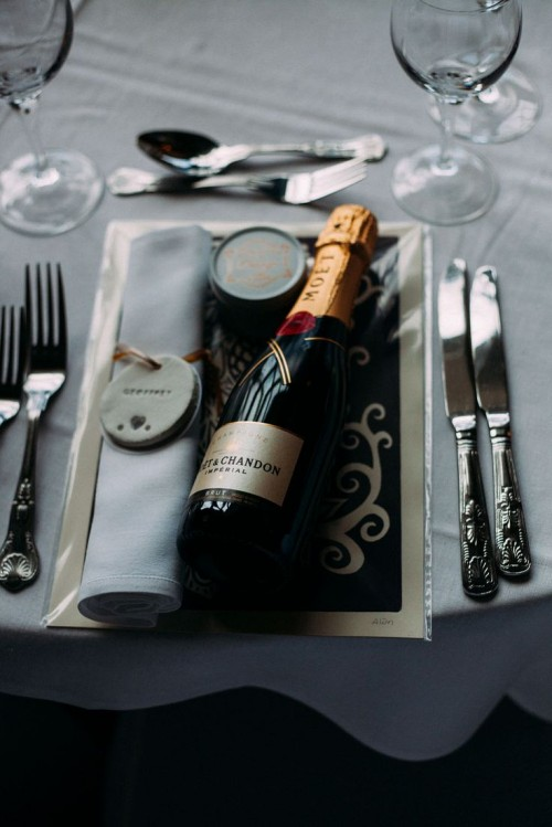 Scottish Wedding With An Antler And Animal Skull Theme