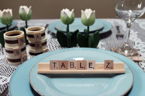 Scrabble Ideas For Your Engagement And Wedding