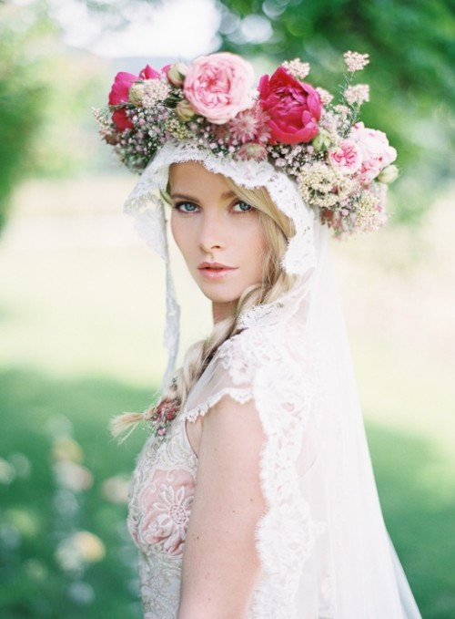Sensuous Bohemian French Garden Wedding Inspiration