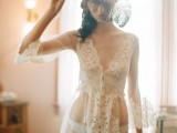 Quits end Sexy beach wedding gown says reply