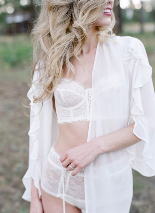Sexy Bridal Lingerie Ideas