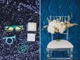 Shades Of Blue Gold And White Fabulous Wedding Inspirational Shoot