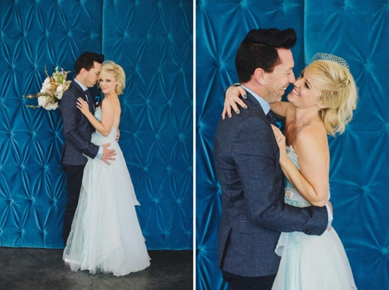 Picture Of Shades Of Blue Gold And White Fabulous Wedding ...