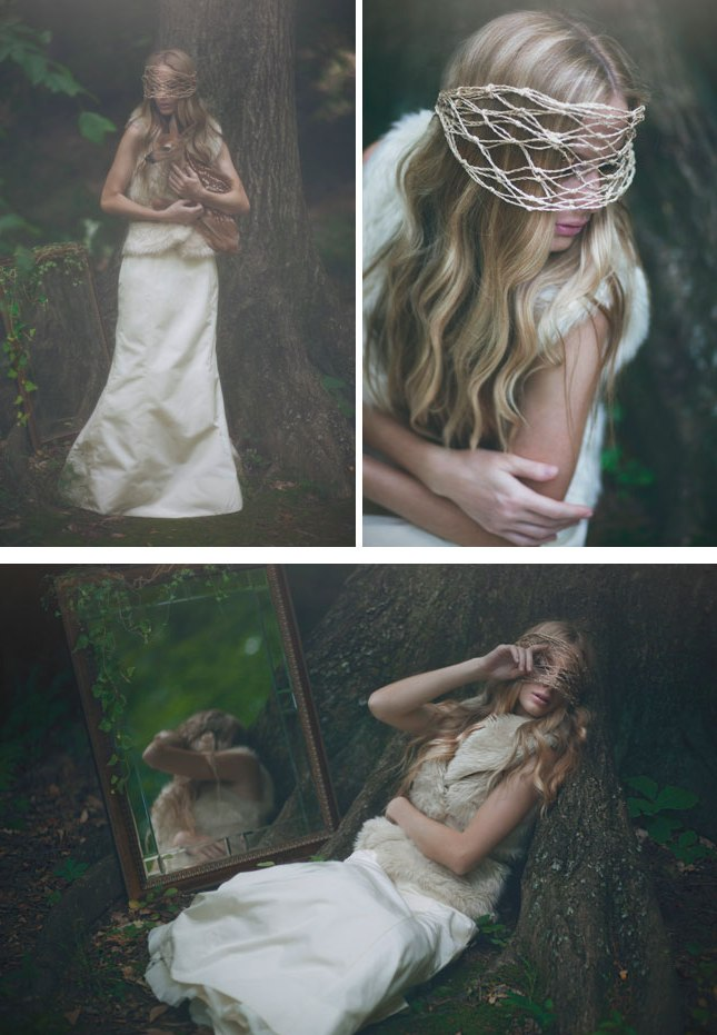 Shadows Of My Heart Bridal Shoot With A Fawn