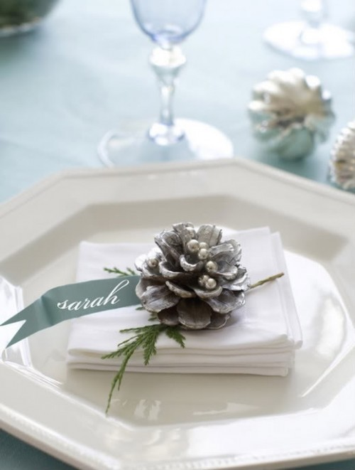 32 Silver And White Winter Wedding Ideas