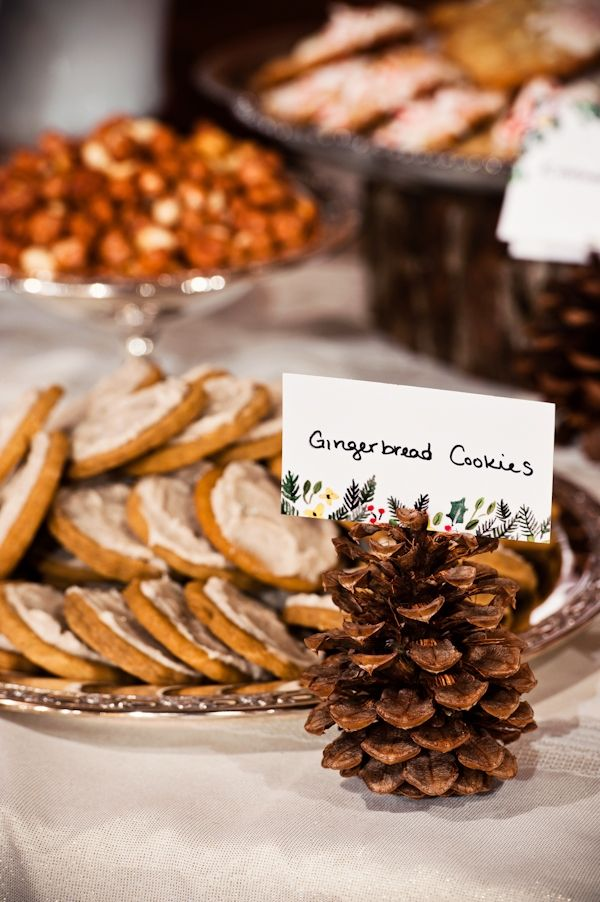 Picture Of simple and natural pinecone wedding ideas  15