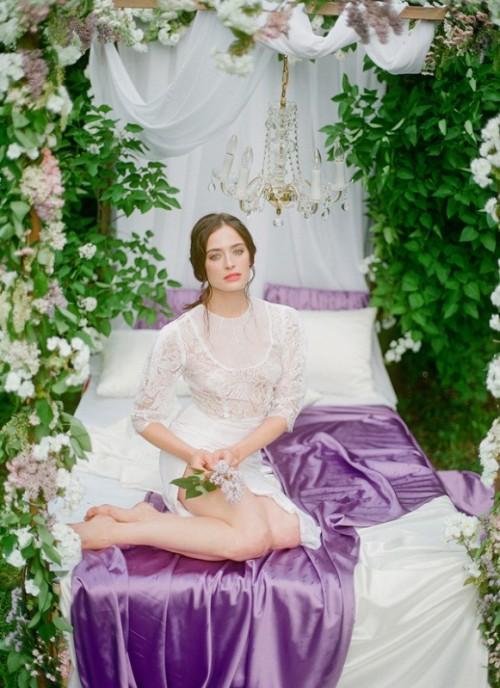 Sleeping Beauty Inspired Enchanted Bridal Morning