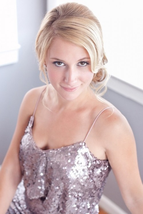 Soft And Romantic Diy Low Side Chignon Wedding Hairstyle