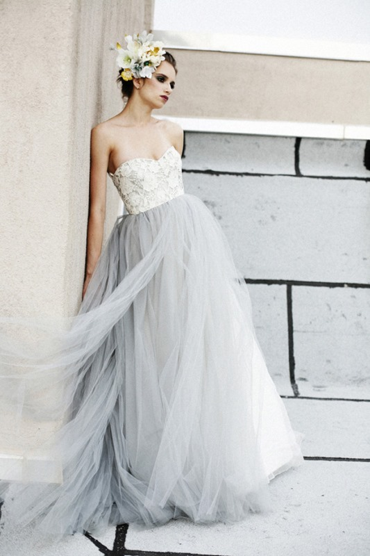Picture Of Soft And Romantic Elizabeth Dye Wedding Dresses 10